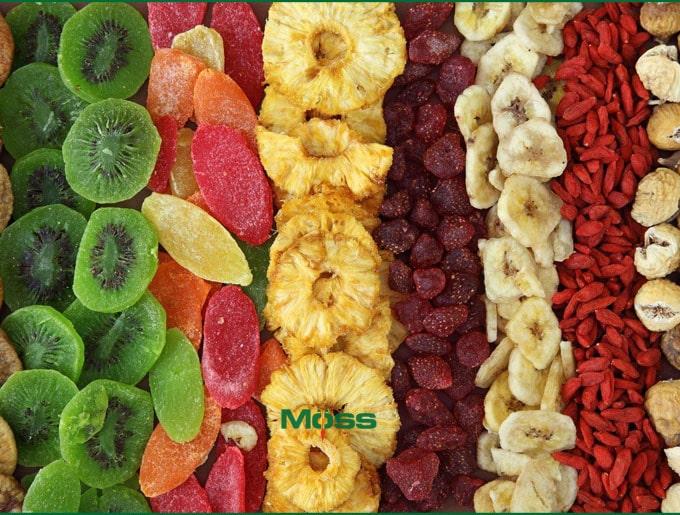 Hoa quả sấy có hàm lượng đường quá cao