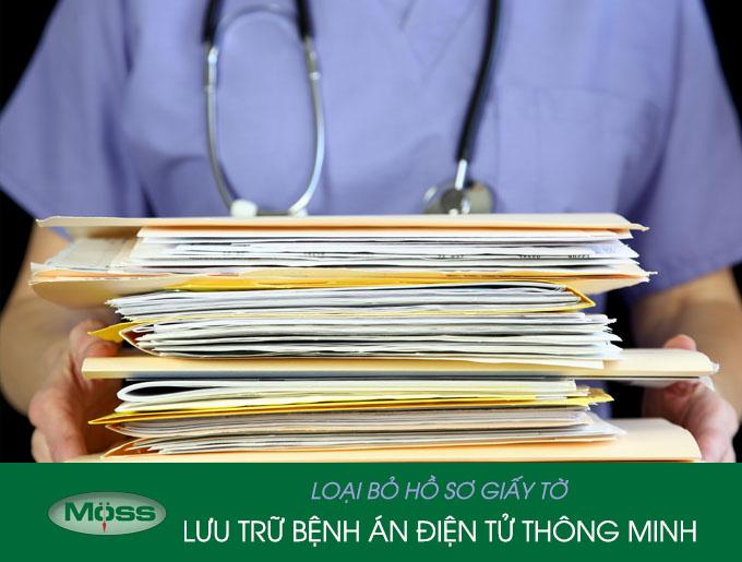 Lưu trữ bệnh án điện tử bằng phần mềm quản lý phòng khám đa khoa