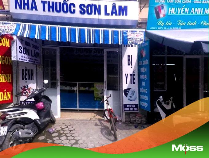nhà thuốc Sơn Lâm