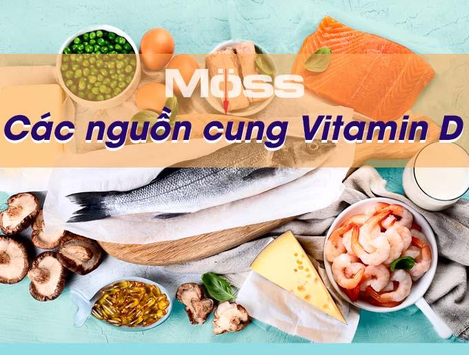 Vitamin D trong tự nhiên có công dụng tuyệt vời